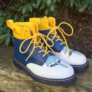 Dr. Martens X Adventure Time 939 Ice King Boots